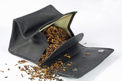 Rattray's Black Knight Tobacco Pouch 2 - Small Stand up